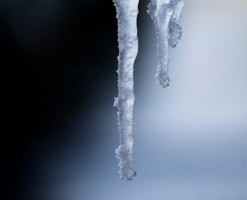 een koude foto